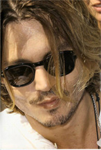 Johnny Depp Sunglasses has 13 tattoos, 